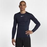 Hautà manches longues Nike Pro pour Homme - Bleu
