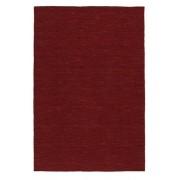 RugVista Alfombra Kilim loom - Rojo Oscuro 120x180 Alfombra Moderna