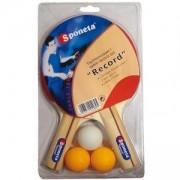 Комплект хилки и топчета за тенис на маса Sponeta Record, SPO199-201