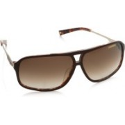 Carrera Rectangular Sunglasses(Brown)