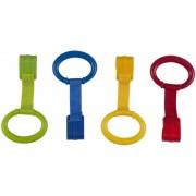 Set 4 inele pentru Tarc de joaca Sun Baby, Multicolor