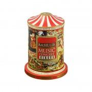 Ceai negru in cutie muzicala Basilur Music Concert Circus 100g