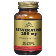 Solgar Resveratrol 250mg gélules, 30