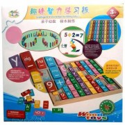 Детска образователна дъска, дървена, 517116518