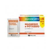Marco Viti Farmaceutici Spa Massigen Magnesio Potassio Forte In Bustina Con Astuccio 24+6 Bustine