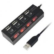 Hub Logilink UA0128, 4 porturi, USB 2.0