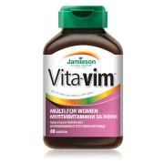 Мултивитамини за жени Jamieson Vita-Vim, 60 таблетки