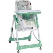 Столче за хранене Primo, Lorelli, Green White Friends, 0740037