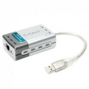 USB 2.0 mrežna kartica D-Link DUB-E100