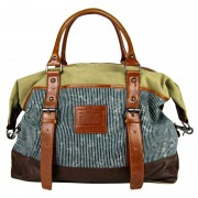 Licence 71195 Jumper II Canvas Overnight Bag Beige LBF10862-BE