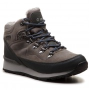 Hi-Tec Trekkingi HI-TEC - Midora Mid Wp Wo's AVSAW18-HT-01-Q3 Medium Grey/Dark Grey/Lake Blue