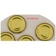 Méhsejtes 43mm