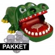 Shoppartners Indrink spelletje krokodil 4 personen