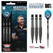Bulls Steeldart Sets - Bulls Martin Schindler The Wall Steel Tip 90% Darts Set