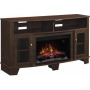 Consola media cu focar electric ClassicFlame LA SALLE Engineered Midnight Cherry