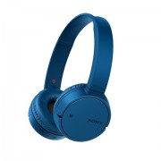 HEADPHONES, SONY WH-CH500, Headset, Bluetooth/NFC, Google/Siri voice assistant, Blue (WHCH500H.CE7)