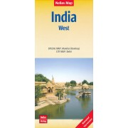 Wegenkaart - landkaart 2 India - West | Nelles