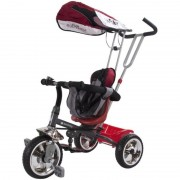Tricicleta Super Trike Sun Baby, 12 luni+, suporta maxim 25 kg, Rosu