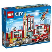 Lego city pompieri caserma dei pompieri 60110