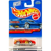 2000 Mattel Hot Wheels Kung Fu Force Series #2 Of 4 99 Mustang (Red) Fighting Graphics Black Interior / Custom Wheels Rare New Out Of Production Limited Edition Collectible