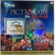 Disney Pixar PICTIONARY DVD GAME Cars Toy Story Incredibles Lion King - Mattel