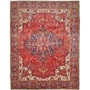 Nain Trading Tappeto Orientale Heriz 381x293 Rosso/Rosa (Persia/Iran, Lana, Annodato a mano)