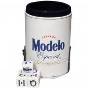 Cubilete Cerveza Modelo Con Portadados. 5 Dados Grabados