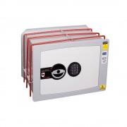 Seif de incastrat in perete inchidere electronica Planet Safe W.3228.E 315 x 440 x 280 mm