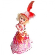 New Pinch Beautiful Singing Dancing Doll with Colorful Dress for Girls (Multicolor)