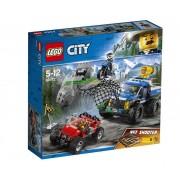 Set de constructie LEGO City Goana pe teren accidentat