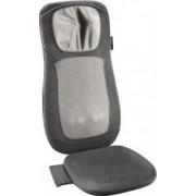 Husa de scaun pentru masaj Medisana Shiatsu MC822 3 nivele de intensitate 3 zone de masaj Telecomanda Gri