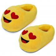 Geen Dames verliefde smiley pantoffels