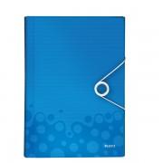 Mapa tip Proiect LEITZ Wow, PP - albastru metalizat