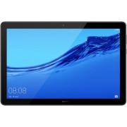 "Tableta Huawei MediaPad T5, Procesor Octa-Core 2.36GHz, Ecran IPS LCD Capacitive Touchscreen 10.1"", 4GB RAM, 64GB Flash, 5MP, Wi-Fi, 4G, Bluetooth, Android (Negru) + Cartela SIM Orange PrePay, 6 euro credit, 6 GB internet 4G, 2,000 minute nationale si int"