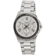 Casio Enticer Silver Dial Mens Watch - Mtd-1075D-7Avdf (A790)