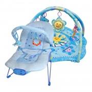 Ladida Babysitter och Babygym Blue Little Star Paketerbjudande