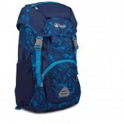Mochila Mini Intense 18 Backpack Lippi Print Azul