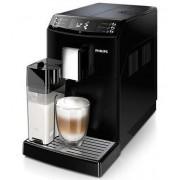Espressor super-automat Philips EP3550/00, Sistem filtrare AquaClean, Carafa de lapte integrata, 5 setari intensitate, Optiune cafea macinata, 5 bauturi, Negru