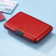 Port card din aluminiu - rosu