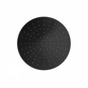 Herzbach deep black Regenbrause 300 rund, Schwarz matt, 23.600300.1.12 23.600300.1.12