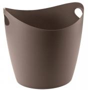 KOZIOL škopek do koupelny BOTTICHELLI,velikost XL - barva hnědá, KOZIOL