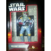 Star Wars Holiday Ornament Boba Fett