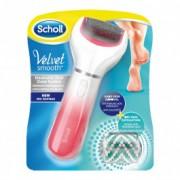 SCHOLL Velvet Smooth Saida električna turpija za pete sa dijamantima - Pink 410559