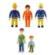 Figurine Fireman Sam 5 Pack