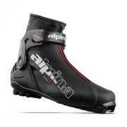 Alpina A Combi 19/20 Chaussures Ski De Fond (Noir)