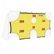Net Playz Poarta de fotbal cu marcaje 290X165X90 cm