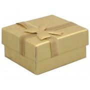 JK Box Cutie cadou în culoare aurie pentru cercei RZ-1/AU