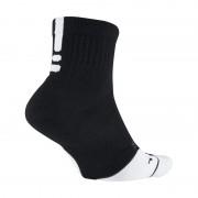 Chaussettes de basketball Nike Dry Elite 1.5 Mid - Noir