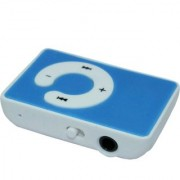 MP3 Mini Clip-on C Design player with Memory card slot earphone by Bharat shopping Hub