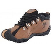 SHOES T20 new latest fashionable MEN'S BROWN HIKING AND TREKKING BOOTS trail casual fitness Running Outdoor Multisport Training Safety camping Exercise morning walk/walking and gym Fitness shoes/ Shoe /footwear/ foot wear FOR boys/ boy/ boy's /men /mens -